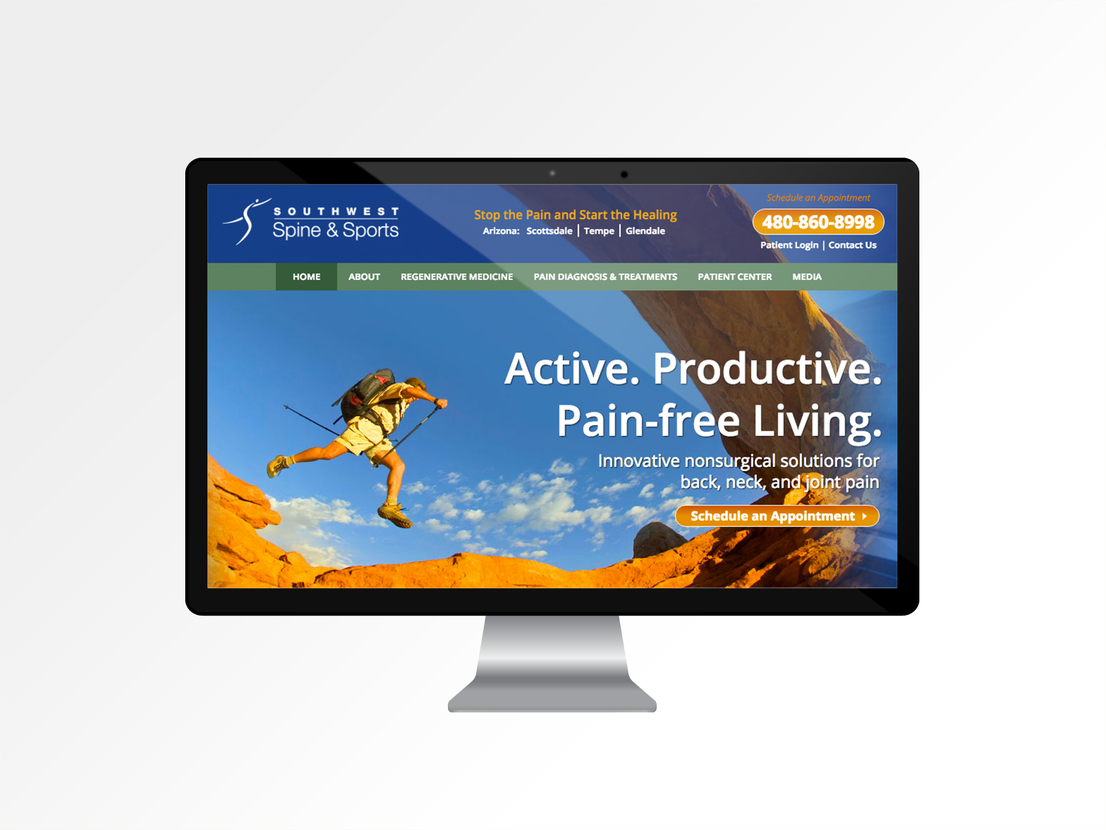 Southwest Spine & Sports <br><span>Website & Marketing</span>